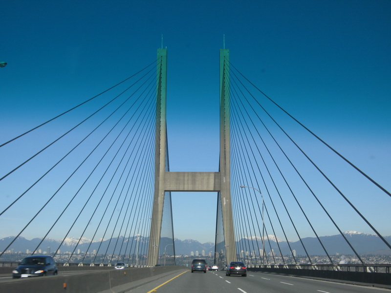 Entering Vancouver