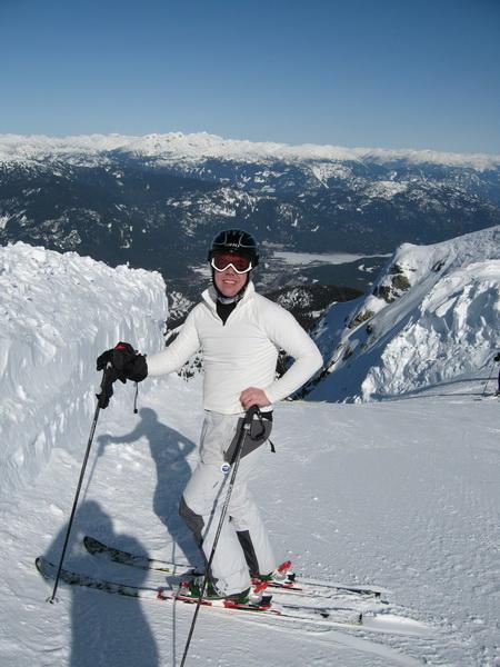 Tomas at Whistler Peak