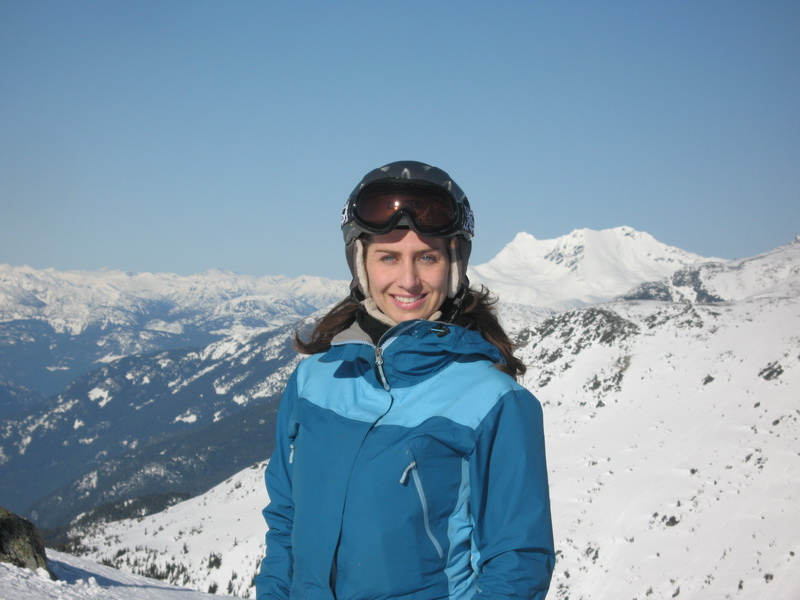 Angela at Blackcomb