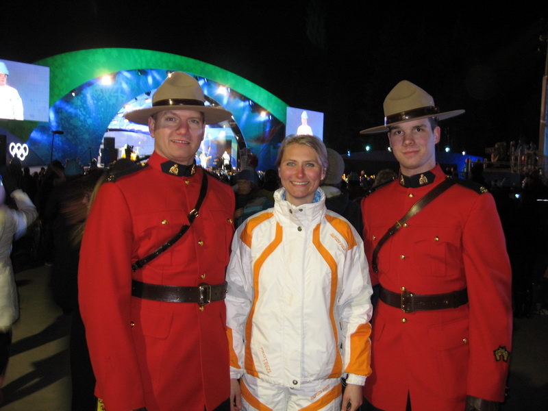 Lucie and the Canadian Mountain Police