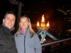 Lucie and Tomas with Olympic Flame